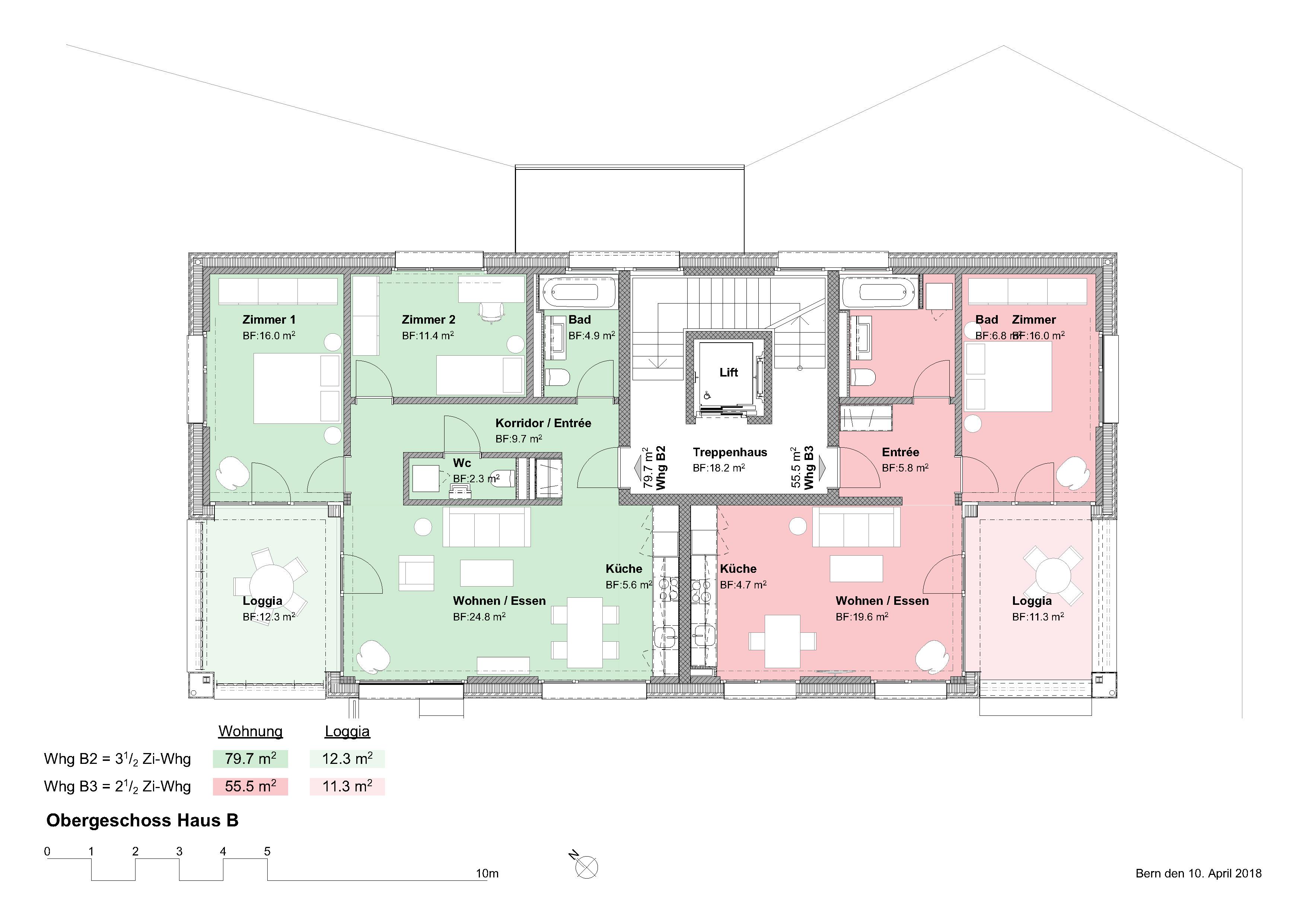 03_Obergeschoss Haus B
