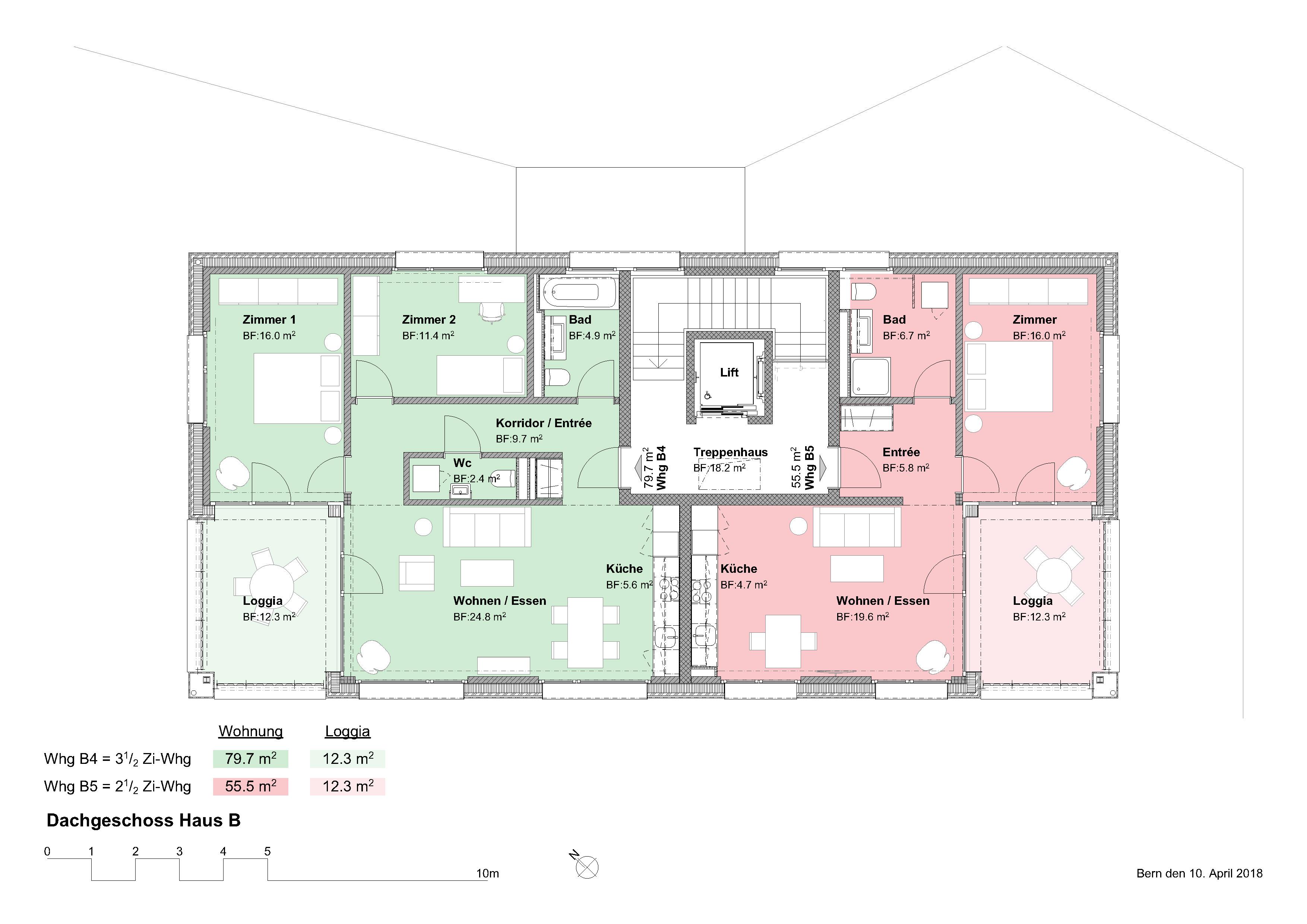 04_Dachgeschoss Haus B